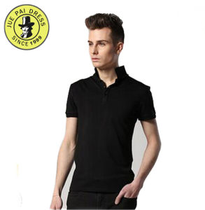 Factory Price Classic Black Polo Shirt pictures & photos