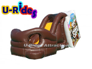 Commercial inflatables Milk chocolate inflatable slide inflatable water slide for kids and adults pictures & photos