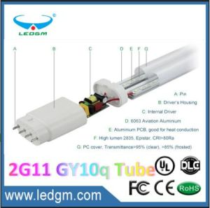 3-5 Years Warranty Hot Sale T8 LED Tube Light 4pin 2g11 Gy10q LED Tube Lamp (12W 16W 20W 23W) Ce RoHS UL 2FT/3FT/4FT/5FT pictures & photos