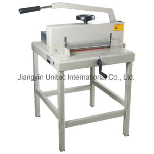 Popular Products 2016 Paper Guillotine Cutter Machine Supplier 4708