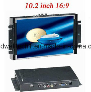 "10.2"" 16: 9 LCD Metal Frame Touch Monitor pictures & photos"