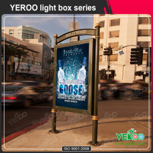 Advertising Double Sided Light Box Design