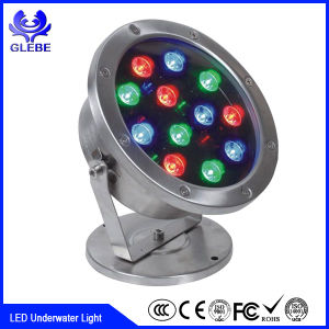 Express IP68 LED Underwater Light 15W Super Bright Underwater Pool Light pictures & photos