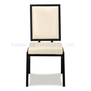 Back Design Steel Banquet Stackable Chair pictures & photos
