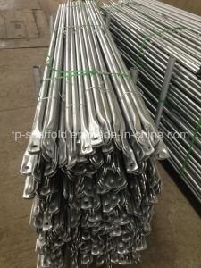 Galvanized Punched Scaffolding Cross Brace for Scaffold Frame (TPCTSSGC001) pictures & photos