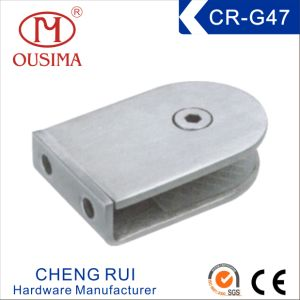 Small Stainless Steel Glass Clamp Used in Fixing Glass (CR-G47)