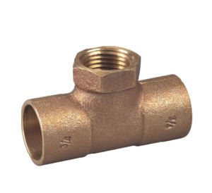Bronze /Lead Free Tee/Pipe Fitting with Hexagonal (P32002) pictures & photos