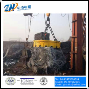 Scrap Lifting Magnet with 75% Duty Cycle for Crane Installation MW5-90L/1-75 pictures & photos
