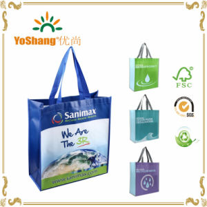BSCI Audited China Mannufacture Recyclable Folding Laminated Promotional Non Woven Bag pictures & photos