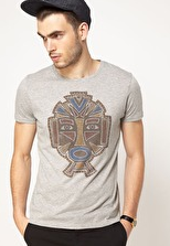 Customized T-Shirt with Mask Print