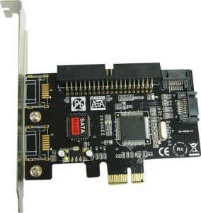 PCI-Express 2-Channel SATA & IDE Controller Card (2 SATA)