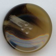 Shiny Texturer Polyester Button