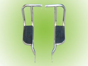 Foot pedal with Back Engine Guard (CG125, HONDA 125)
