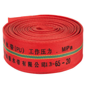 PU Lining FM Standard Fire Fighting System of Fire Hose