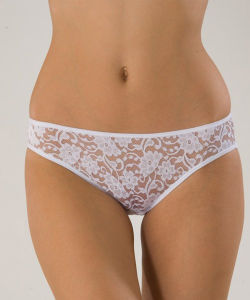 b15603a310b Floral White Lace Lady Brief Sexy Transparent Panty European Style Knickers