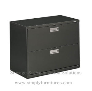 2 Drawer Metal Lateral File Cabinet For Office