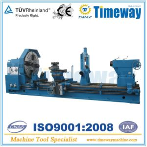 Large Sized Heavy Duty Horizontal Lathe (1250mm/1600/2000mm swing diameter) pictures & photos