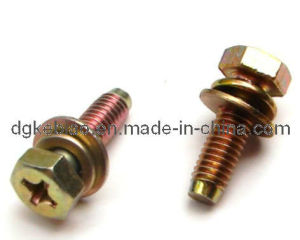 Stainless Steel Hex Screw with Colours (KB-060)