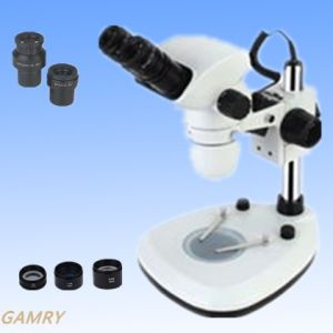 China Made Stereo Zoom Microscope Szx6745-J4 pictures & photos