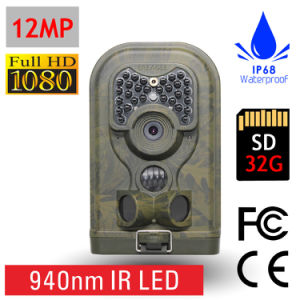 Invisible 940nm Light 12MP Digital Trail Camera (Ere-E1)