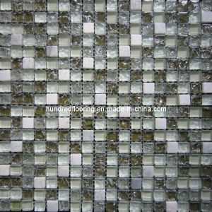 Stone Mix Crystal Glass Mosaic Tile (HGM350) pictures & photos
