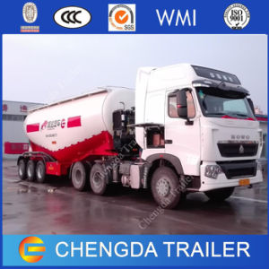 3axles 80ton Cargo Vehicle Cement Bulker Tanker Trailer for Sale pictures & photos