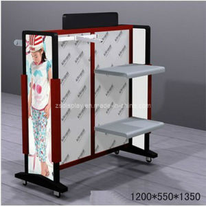 Metal Display Stand Rack Shelf for Kids′ Clothes (ZS-127)