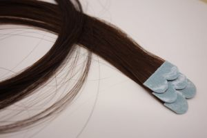 Tape in Exteaions Micro Tape with Remy Human Hair pictures & photos