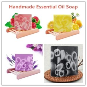 Bath Soap for Cleansing with Strawberry Flavor pictures & photos