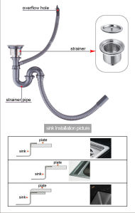 Handmade Topmounted Stainless Steel Sink (T105222) pictures & photos