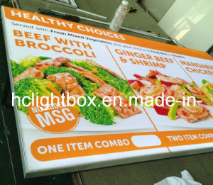 LED Menu Board Light Box