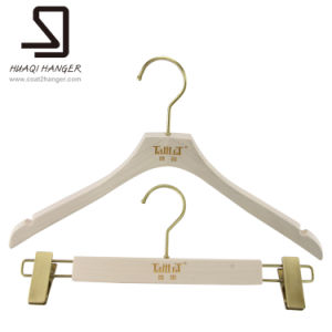 Store Display Wooden Hanger for Female Clothes pictures & photos