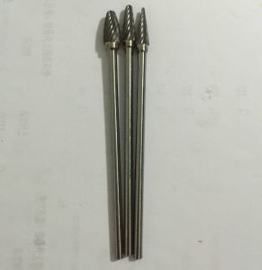 Long Shank Carbide Rotary Files with Excellent Endurance
