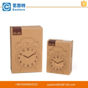 Custom Cheap Folding Kraft Paper Packaging Box for Clock