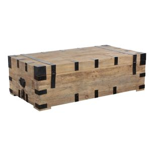 China Industrial Metal Wood Trunk Coffee Table With Storage China Coffee Table Trunk Trunk Coffee Table