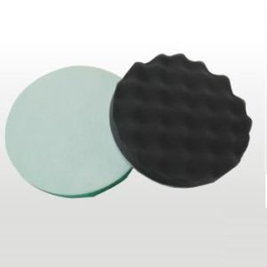 Wave Polishing Sponge Pad with Velcro pictures & photos