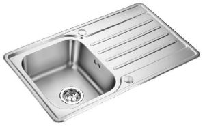 One Bowl Single Drain Stainless Steel Kitchen Sink (XS-SS965)