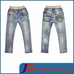 Kids Elastic Waist Denim Jeans (JC5128) pictures & photos