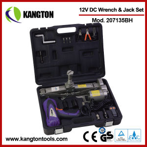 Set of 12V Car Electric Jack & Electric Impact Wrench pictures & photos