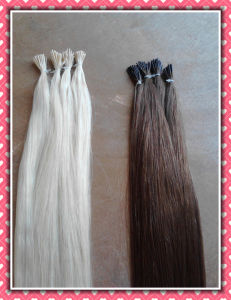 100% Remy Hair Pre-Bonded Hair Extension I-Tip pictures & photos