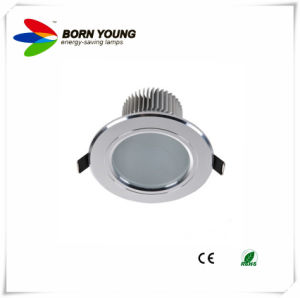 LED Down Light, Recessed Light, Ceiling Light, Silver Body CE&RoHS