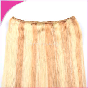 Blond Indian Human Hair Weft Piano Remy Hair Weave pictures & photos