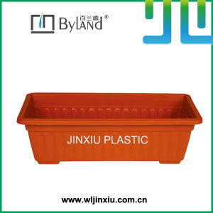 Rectangle Balcony PP Plastic Plant Pot
