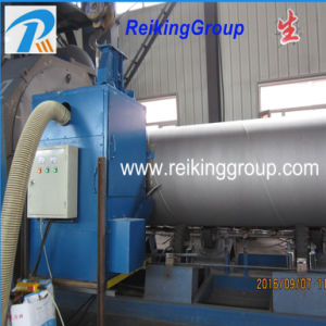 Automatic Steel Pipe Rust Descaling Shot Blasting Machine pictures & photos