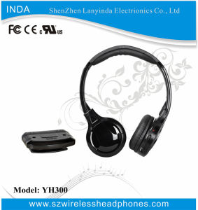 UHF Wireless Headphone for TV/DVD/CD/PC