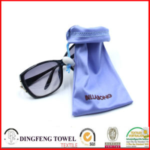 Single Seal Logo Printed Eyeglass Bag Df-2919 pictures & photos