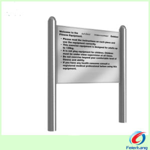 304L Stainless Steel Outdoor Playground Equipment pictures & photos
