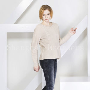 Ladies Fashion Cashmere Sweater 16braw316 pictures & photos