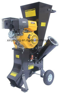 Gasoline Engine Mini Mobile 13HP Wood Chipper Shredder