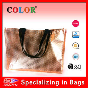 Non Woven Aluminum Laminated Bag, Specail Shape Promotional Bag